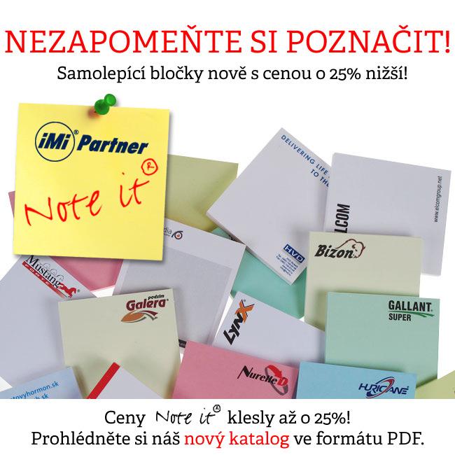 Snížení cen NOTE-IT až o 25%!