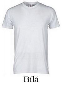 t-shirt bílá